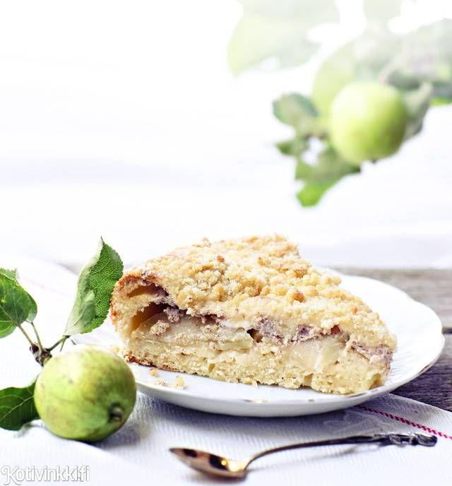 Omena-rahkapiirakka   Kotivinkki