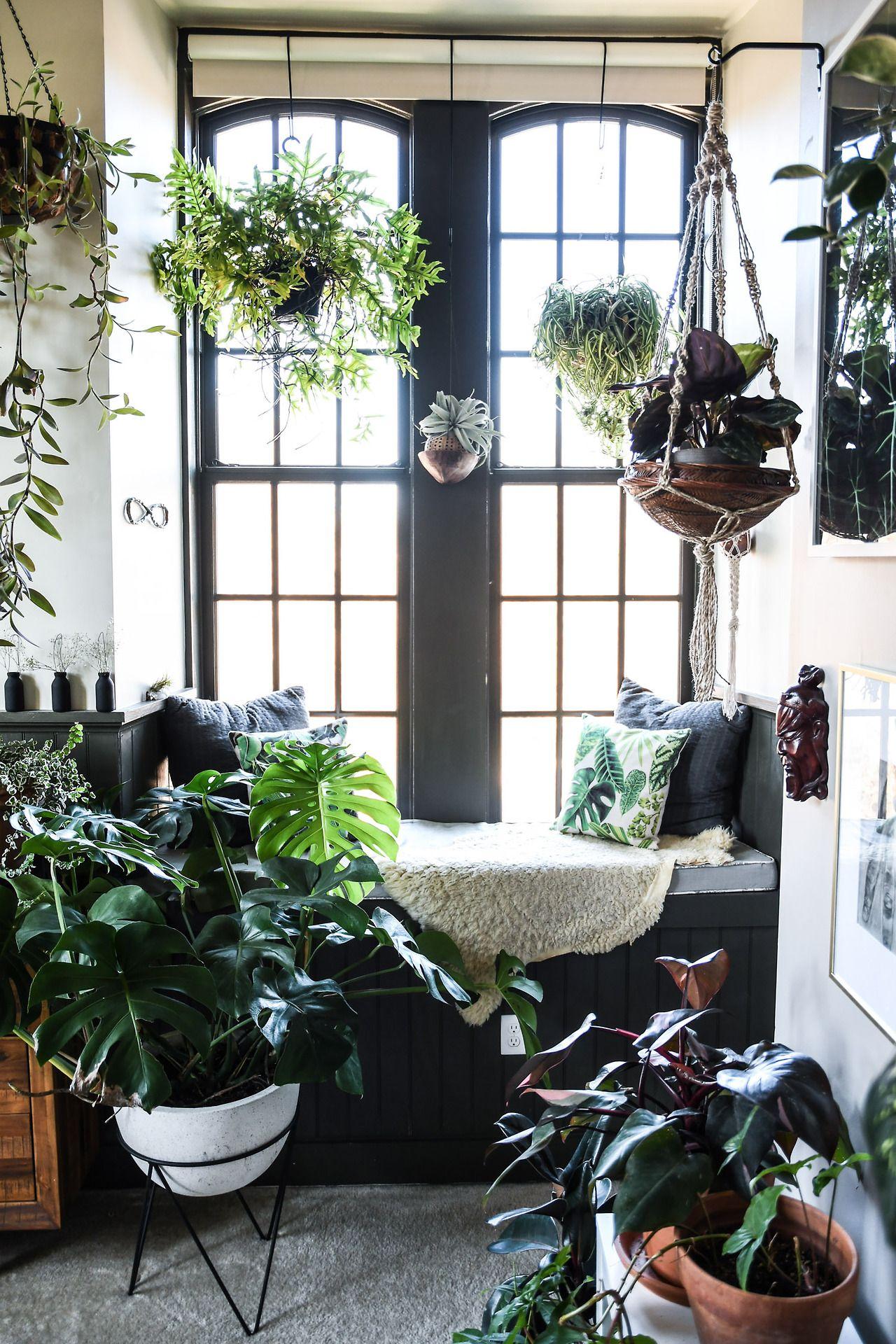 Plant Filled Baltimore Loft Follow Gravity Home Blog  Instagram