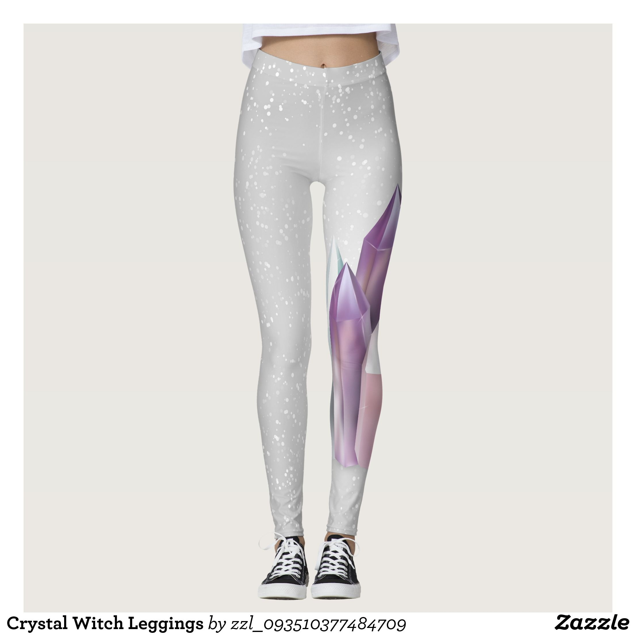 e51762ff08ea5 Crystal Witch Leggings : Beautiful #Yoga Pants - #Exercise Leggings and  #Running Tights - Health and Training Inspiration - Clothing for  #Fitspiration and ...