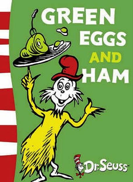 Green Eggs And Ham Book Cover Popular Kids Books Dr Seuss Books Popular Kids Books Green Eggs And Ham