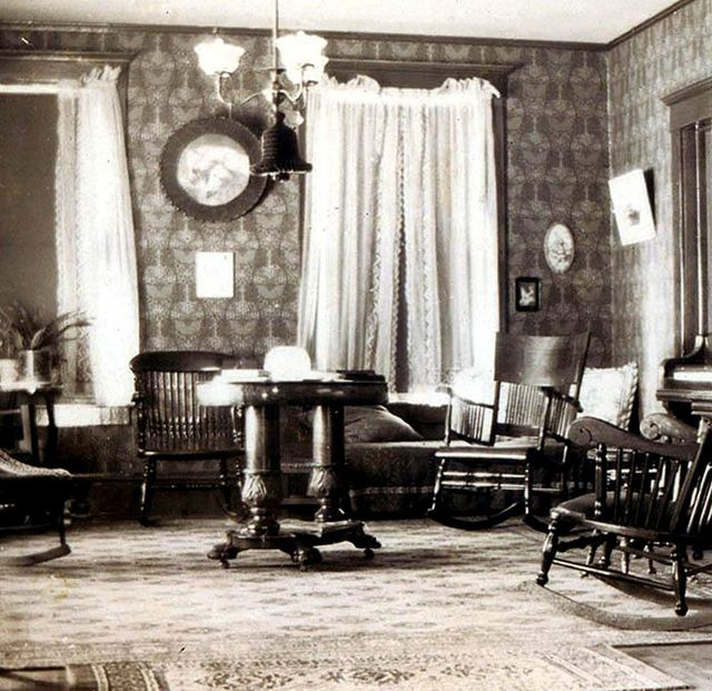 Parlor Interior 1900 S Elegant Home Decor Victorian Interior