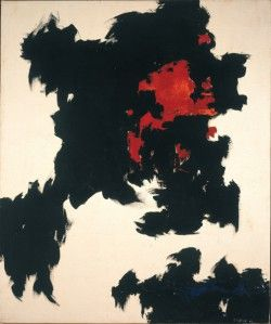 Clyfford Still July 1948 Overall: 61 1/4 x 51 3/4 x 2 3/4 inches  Albright-Knox Art Gallery