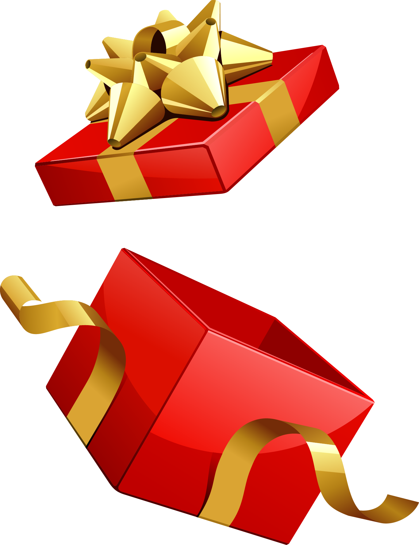 Christmas Gifts With Box Png Mesh Gift Vector Vector Free Red Gift Box