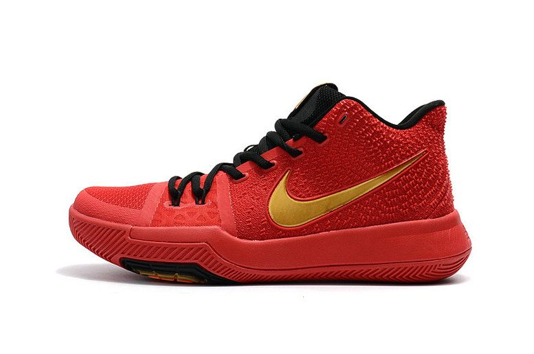 online store 67015 45575 Free Shipping Only 69  Kyrie Irving Shoes 3 2017 Hyper Crimson Metallic  Gold Black