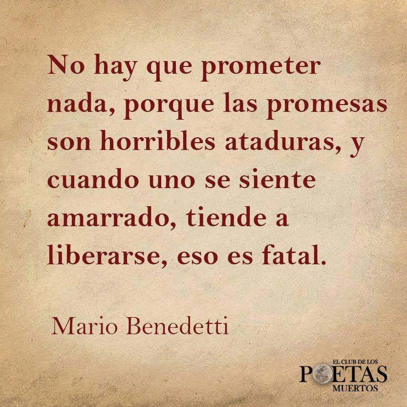 Mario Benedetti Mario Benedetti Frases Benedetti Poemas Y