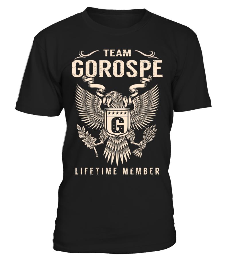 Team GOROSPE - Lifetime Member
