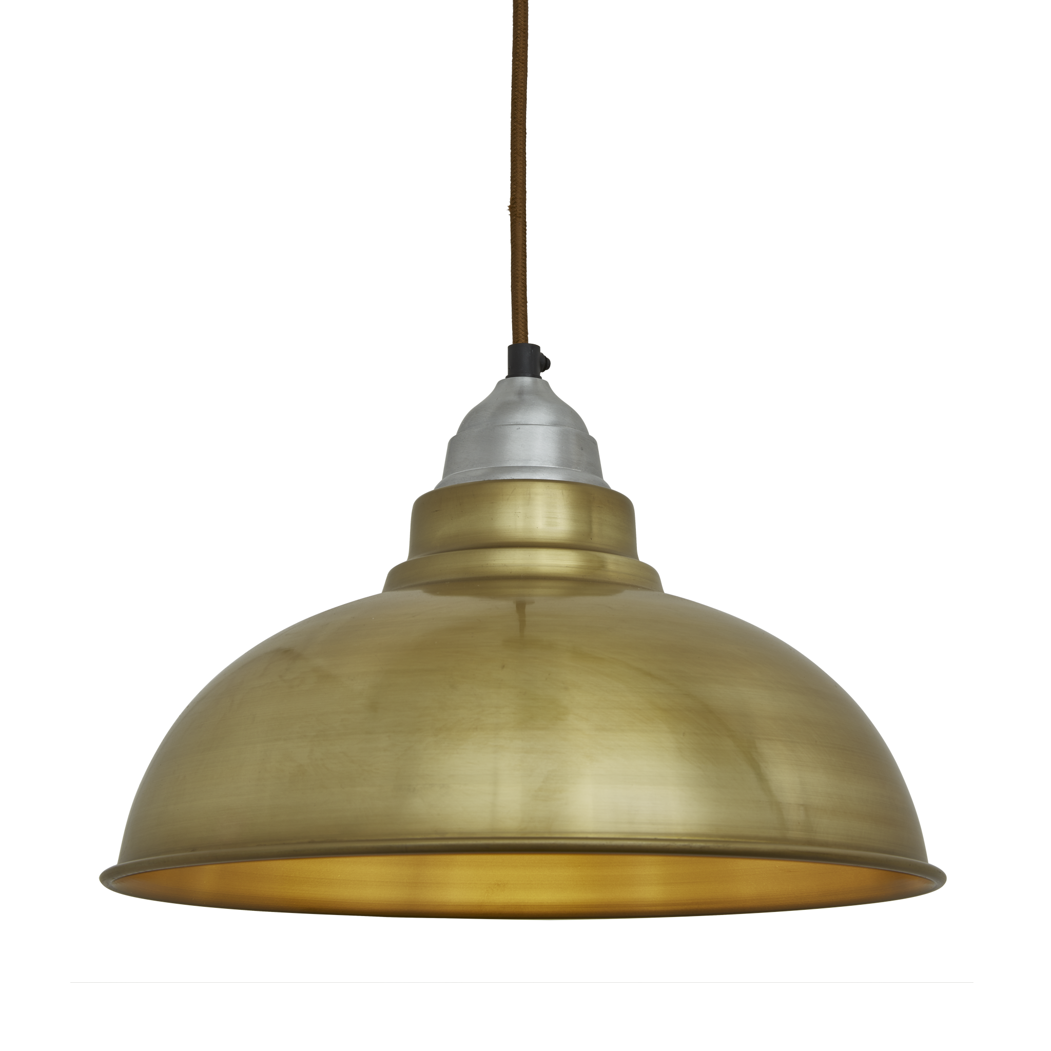 Old Factory Vintage Pendant Light - Brass - 12 inch | Lampshades ... for Vintage Hanging Lamp Png  15lptgx