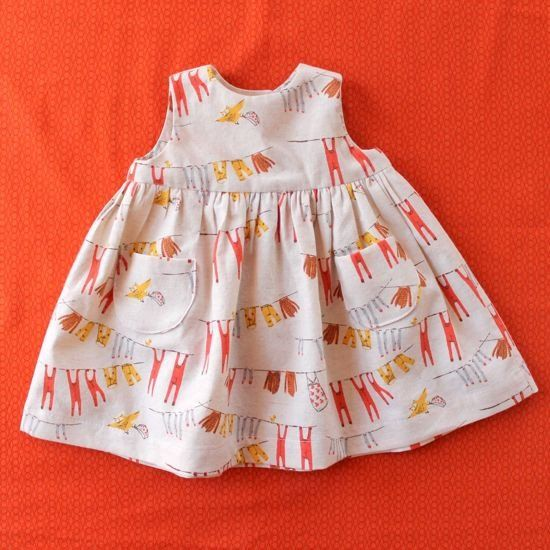 Little Geranium Dress - free pattern! | thrifty crafty. | Pinterest