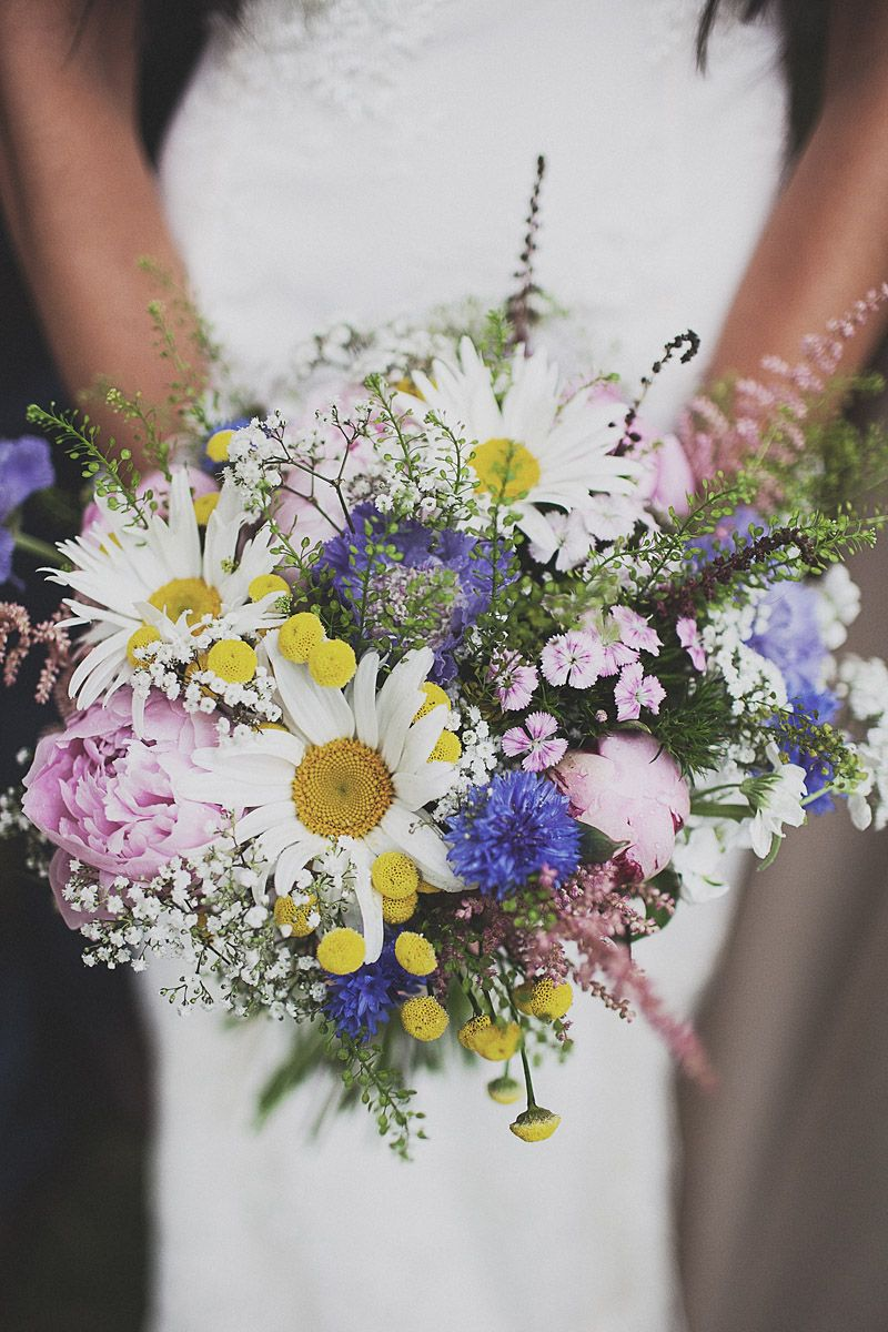 A Festival Inspired Bohemian Wedding With Wildflowers And