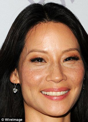freckles Lucy liu