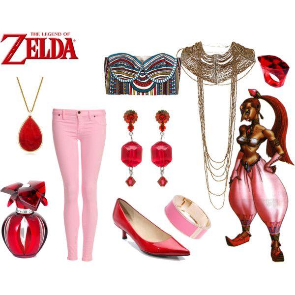 """Nabooru Legend of Zelda"" by andydrinkscoffee on Polyvore"