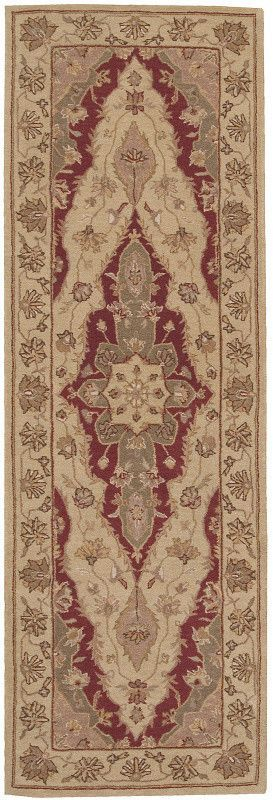 Portchester Brown/Tan Floral Area Rug