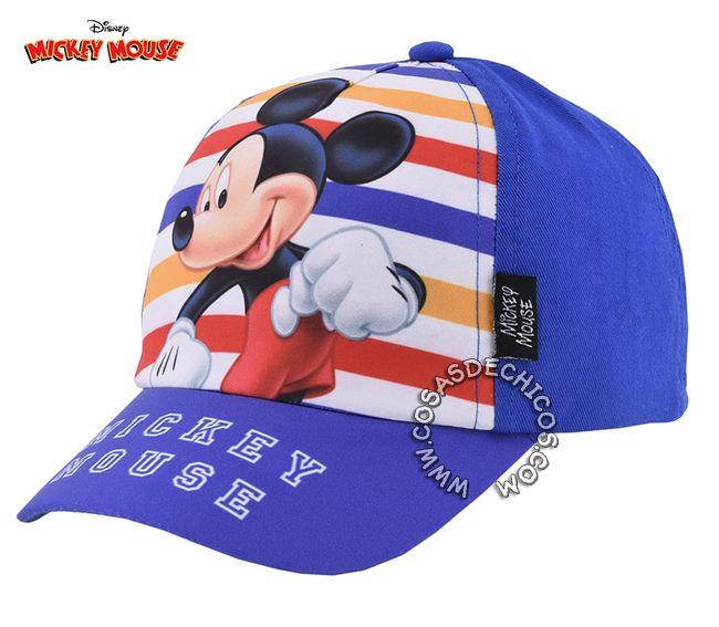 Gorro    Gorra con  Visera  Mickey  Mouse Licencia  Oficial  Disney ... cbb82784dab