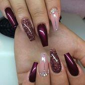24 Gelnägel Muster  Weihnachten auf den Nägeln#BeautyBlog #MakeupOfTheDay #Mak…