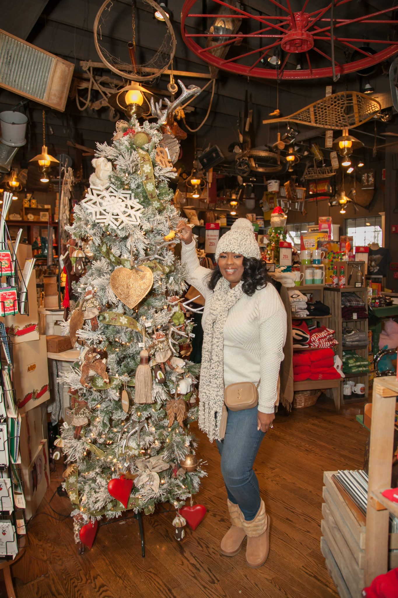 I Loved These Sparkly Christmas Trees Cracker Barrel Has Some