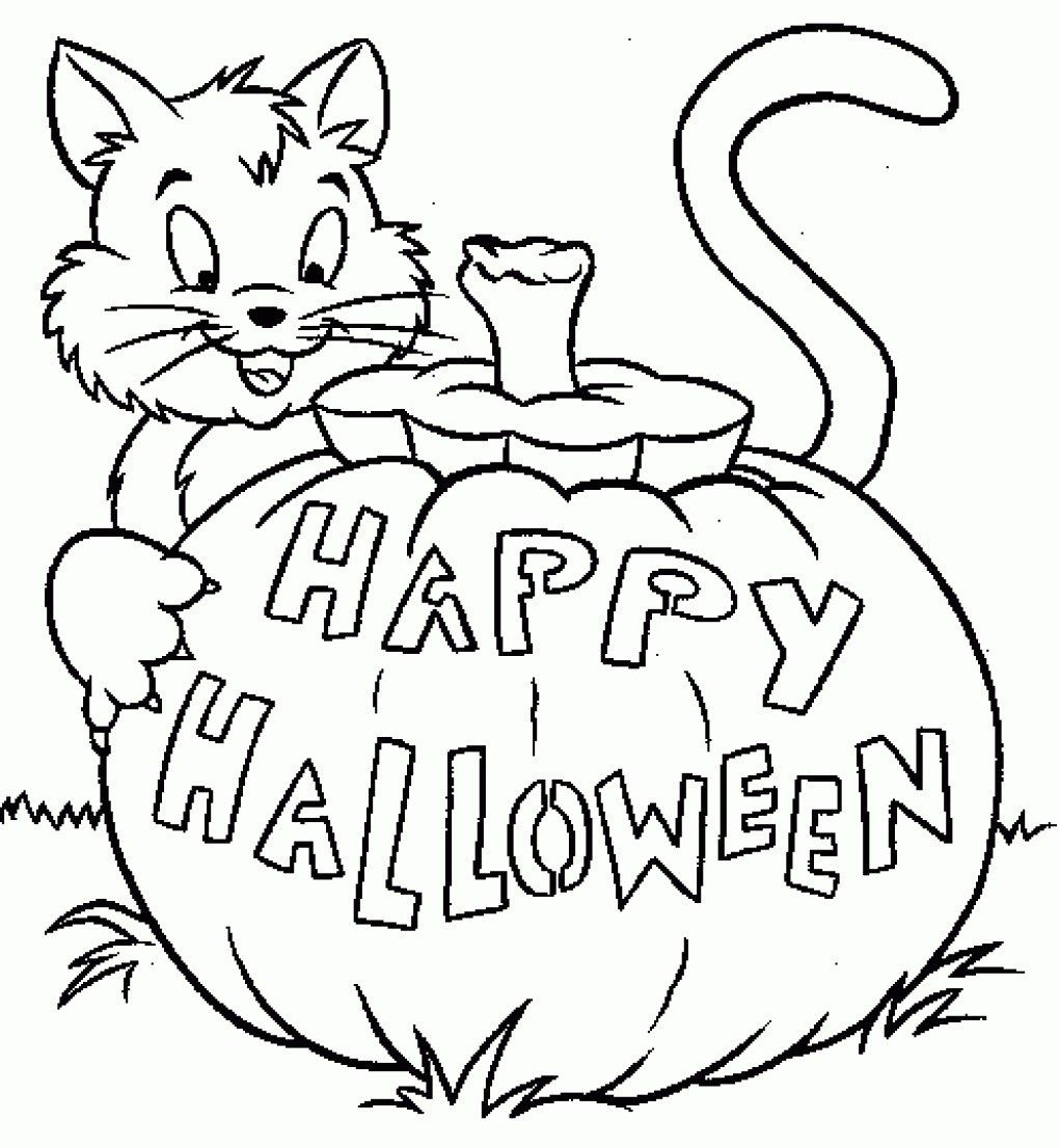 24+ Pretty Picture of Jack O Lantern Coloring Page