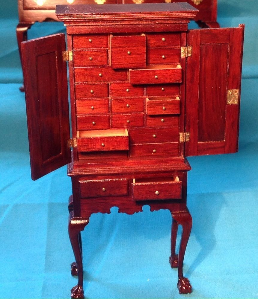 Perfection Sigh Gerald Crawford Miniature 1 12 Dark Wood