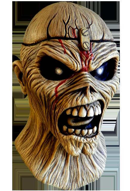 Iron Maiden Eddie Piece Of Mind Mask Deadrockers Iron Maiden Eddie Iron Maiden Skull Artwork