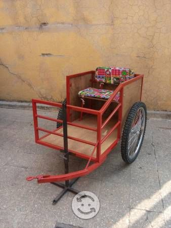 Remolque para bicicleta de niño