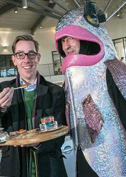 goatsbridge farm trout fish costume