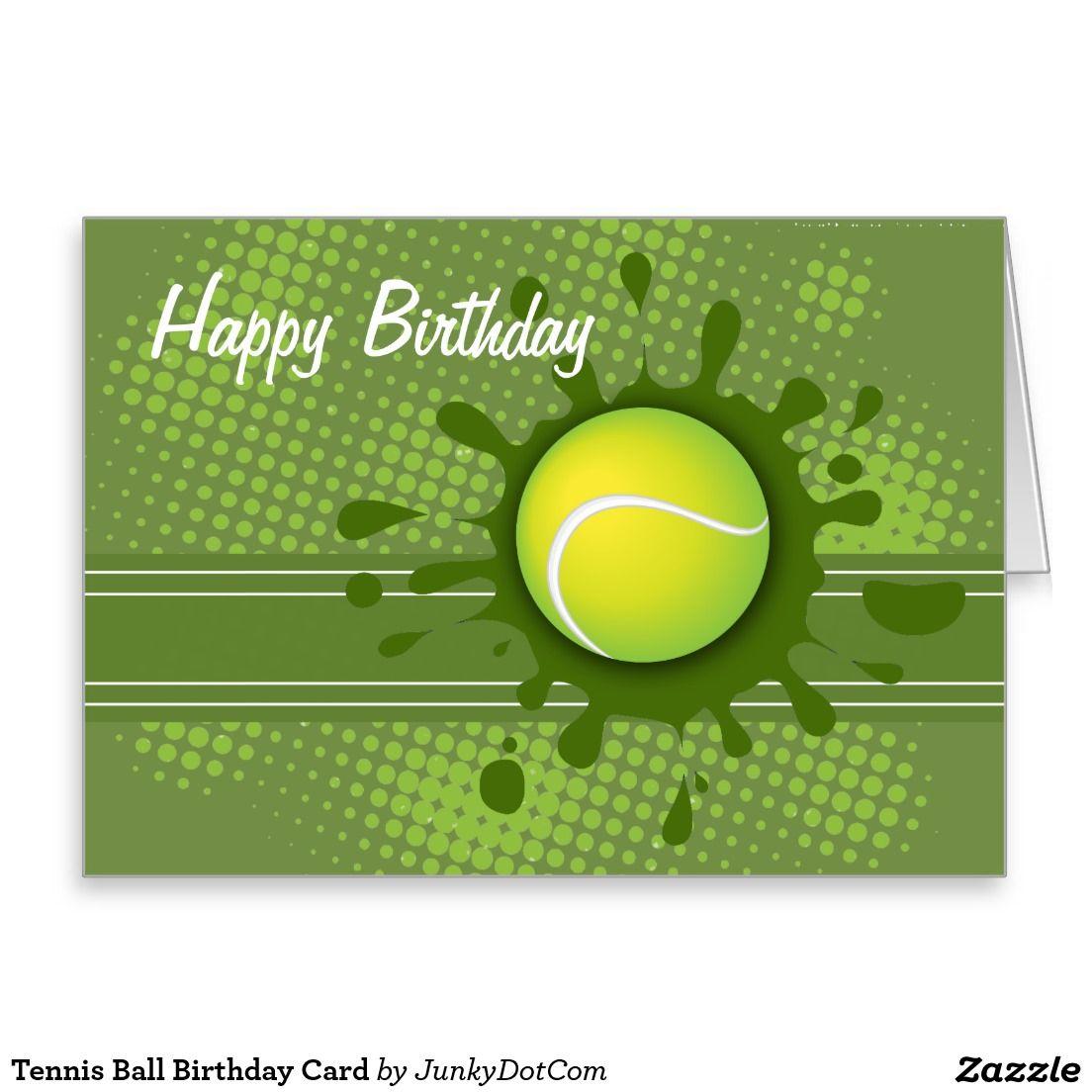 Открытка теннис