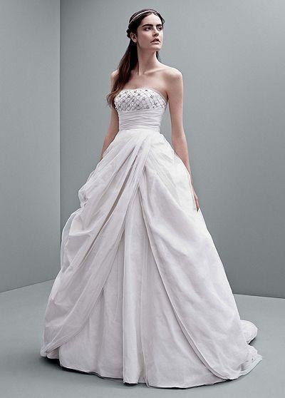 Ball Gown Wedding Dresses : White by Vera Wang... | Wedding Dresses ...