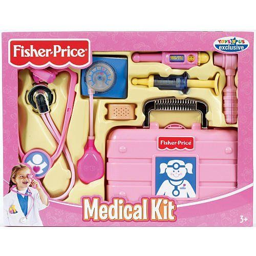Fisher Price Medical Kit Pink Age 3 6 Years By Fisher