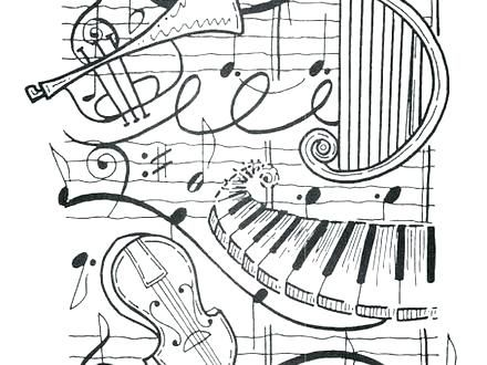 music coloring pages for adults coloring pages online ...
