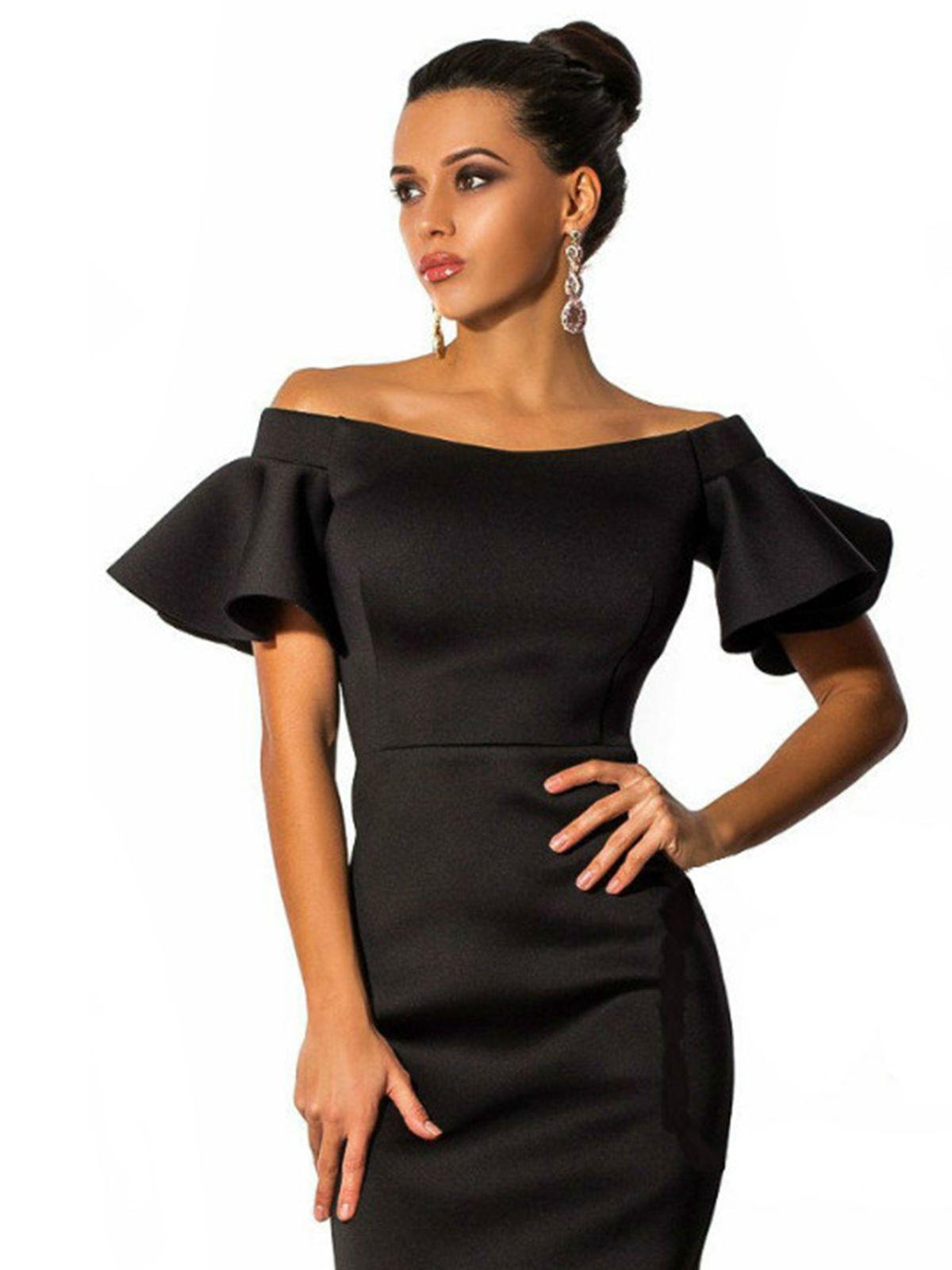 633ef6d913a7d2c Платье черное - Doll House 2367330 | Маленькое черное платье в 2019 ...