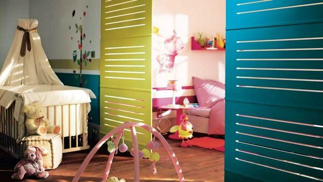 cloisons amovibles chambre enfant parents http www. Black Bedroom Furniture Sets. Home Design Ideas
