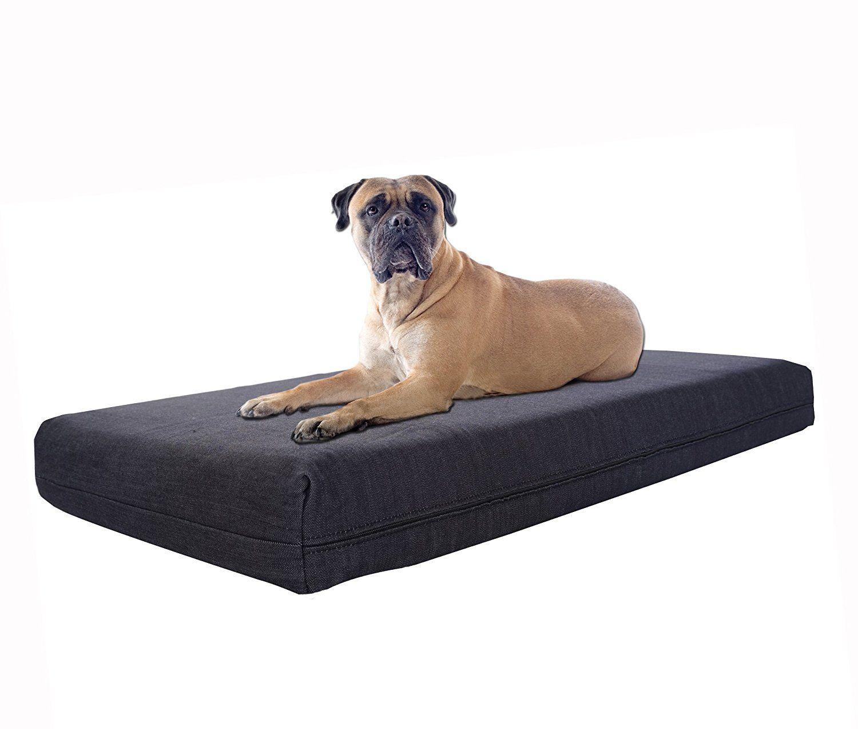TOP DOG XL Orthopedic Memory Foam Pet Bed 40' X 35' X 4.5