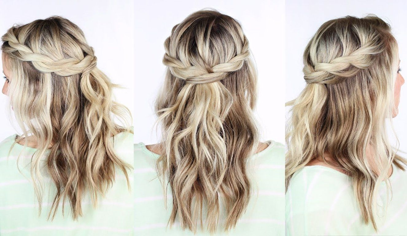 Romantikus Frizurak Valentin Napra Braided Crown Hairstyles