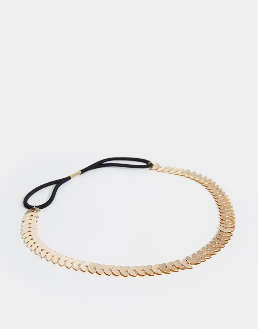 Warehouse   Warehouse Flat Crescent Headband at ASOS