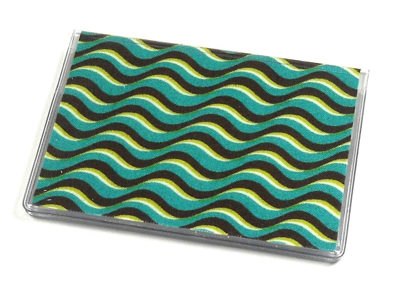 Card case mini wallet waves etsy mini wallet card