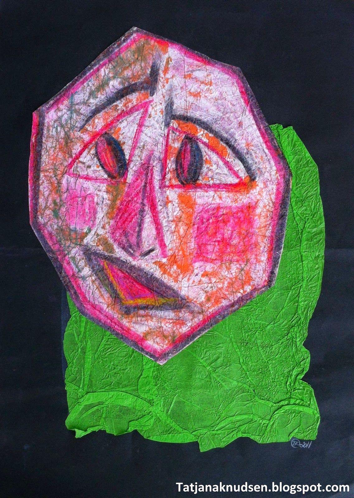 Meet The Creative Part of Me : Ansigter i kubistisk stil.