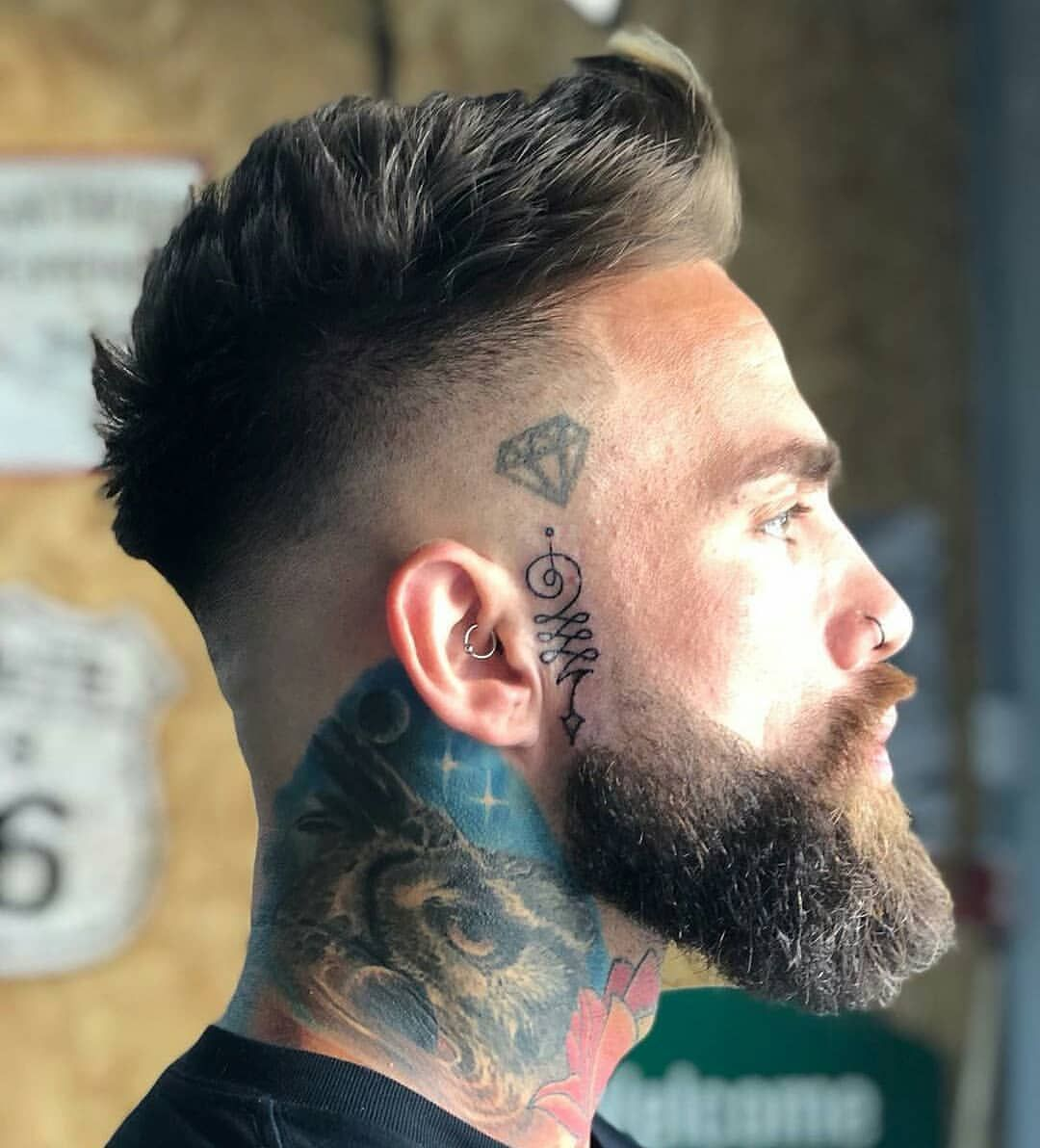 New style haircuts for men your thoughts on his hair and beard game comment below credi