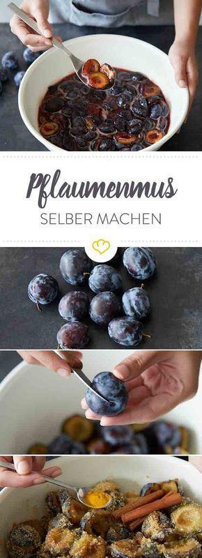 Pflaumenmus selber machen: Fruchtig-lecker durch den Herbst