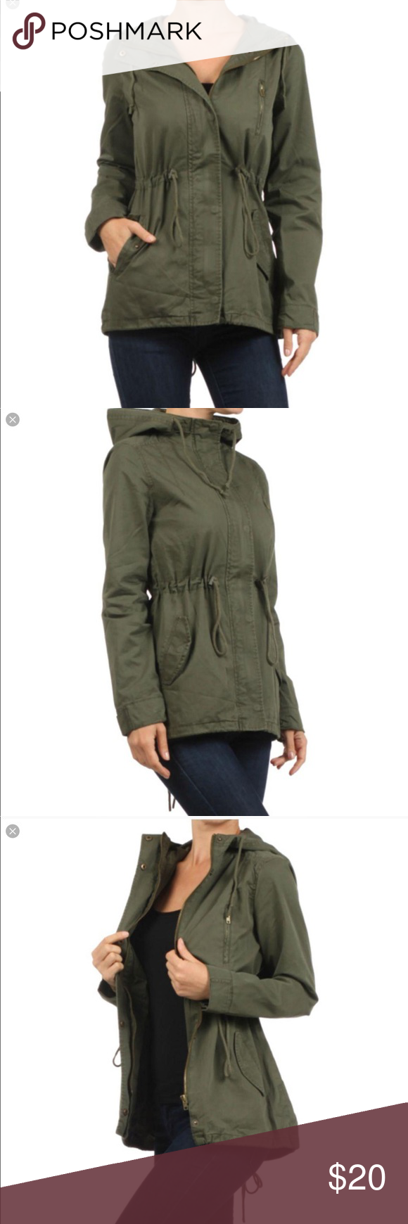 Ambiance Army Green Jacket Army Green Light Weight Jacket Adorable For An Addition To Any Outfit Ambiance Jackets Army Green Jacket Clothes Design Fashion [ 1740 x 580 Pixel ]