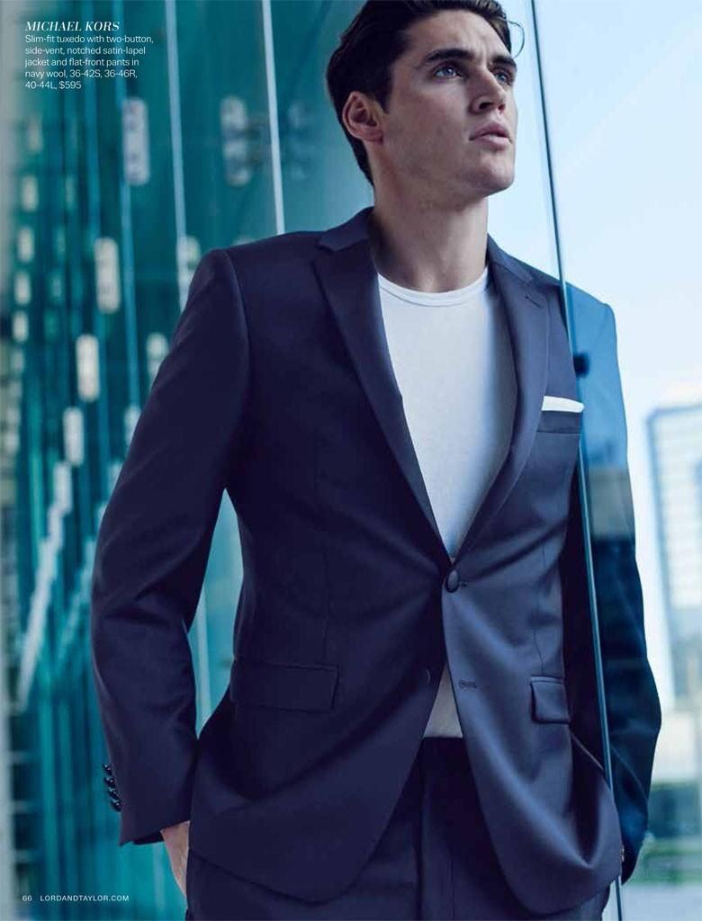 13a52fd5aee4 Isaac Carew Suits Up in Contemporary Styles for Lord & Taylor | Hotties