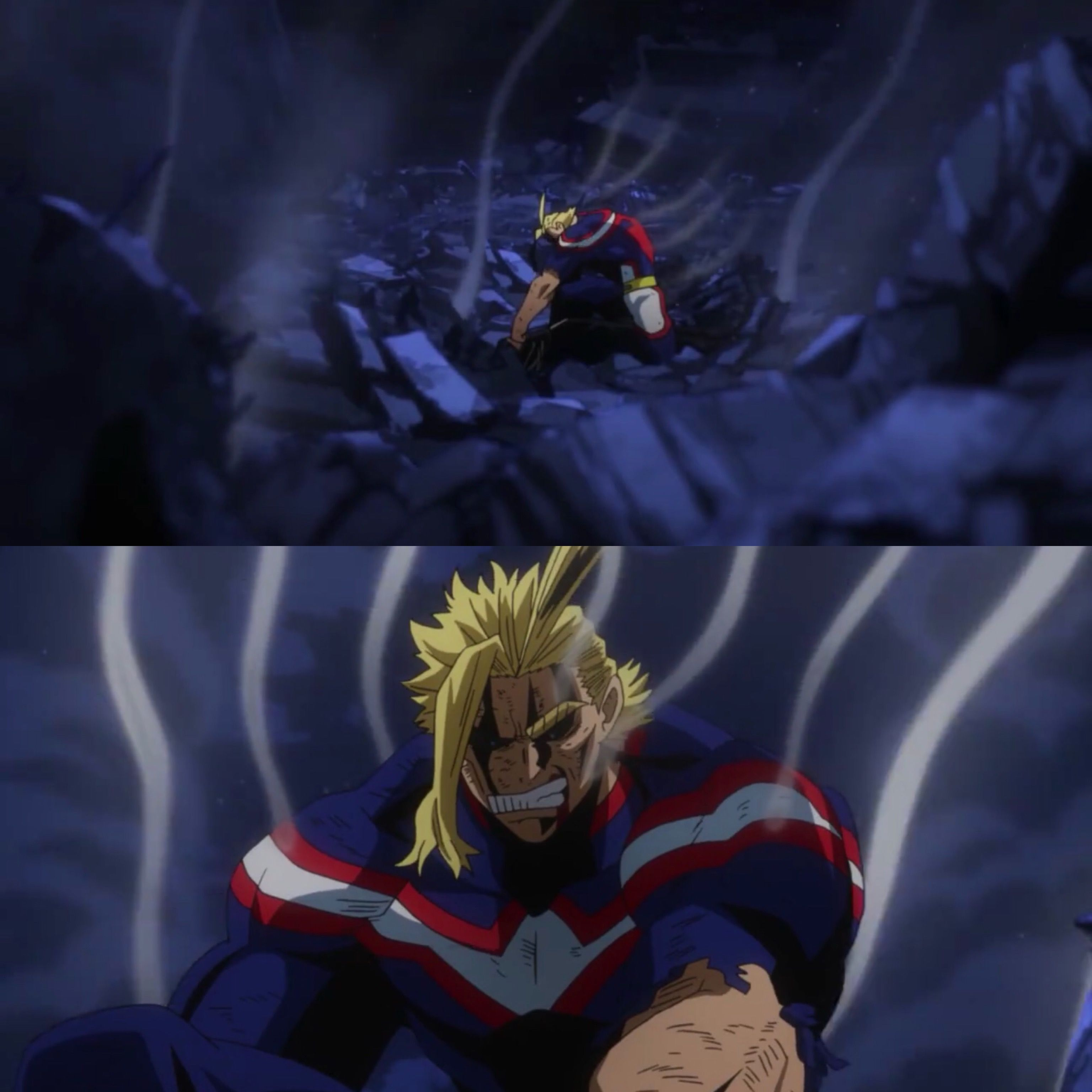 All Might Vs All For One Boku No Hero Academia With Images