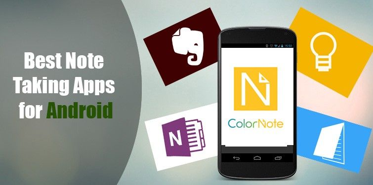 Best NoteTaking Apps for Android Phone Mobile app