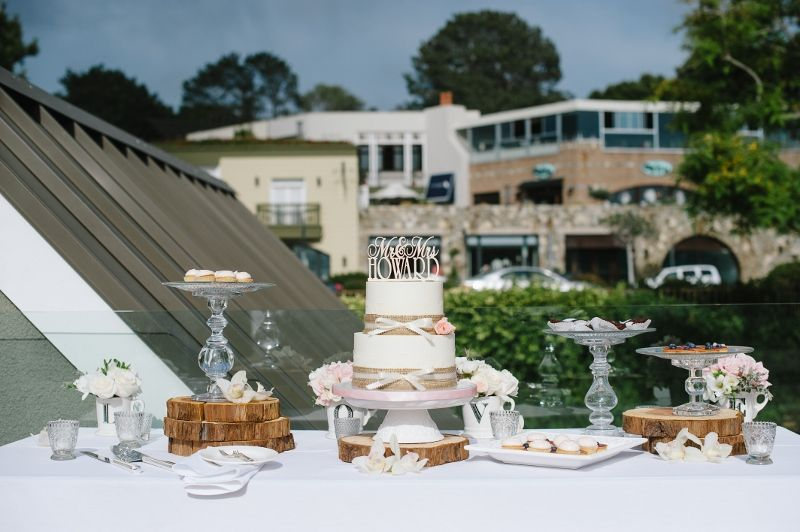 Luxury yummies on the L'Auberge Del Mar Terrace