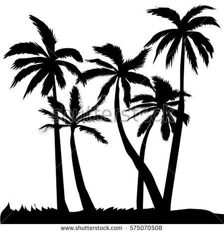 palm tree vector illustration pinterest palm and rh pinterest co uk palm trees victoria bc palm tree vector art free