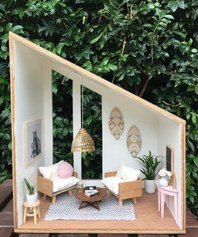 #dollshouse #handmade #handcrafted #woodwork #miniatures #modernminiatures #moderndollshouse #dollhouse