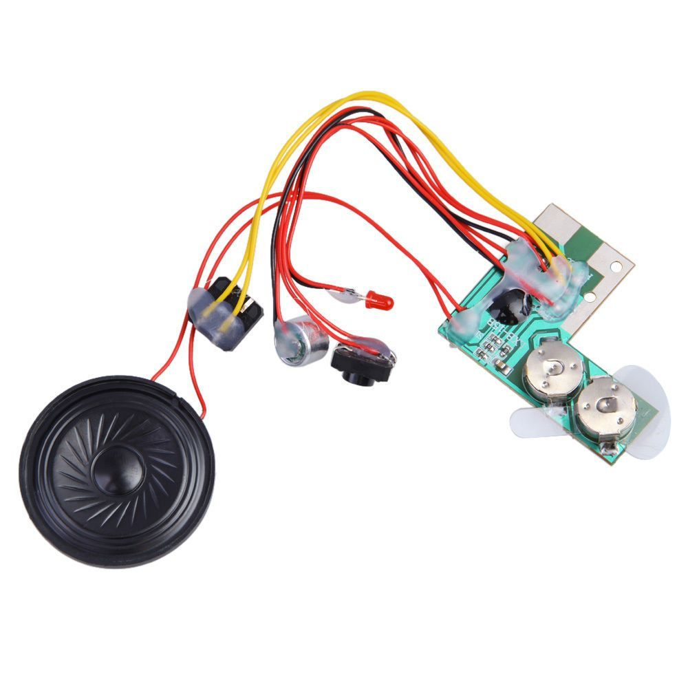 10sec recordable voice module for greeting card music sound chip musical m4hsunfo
