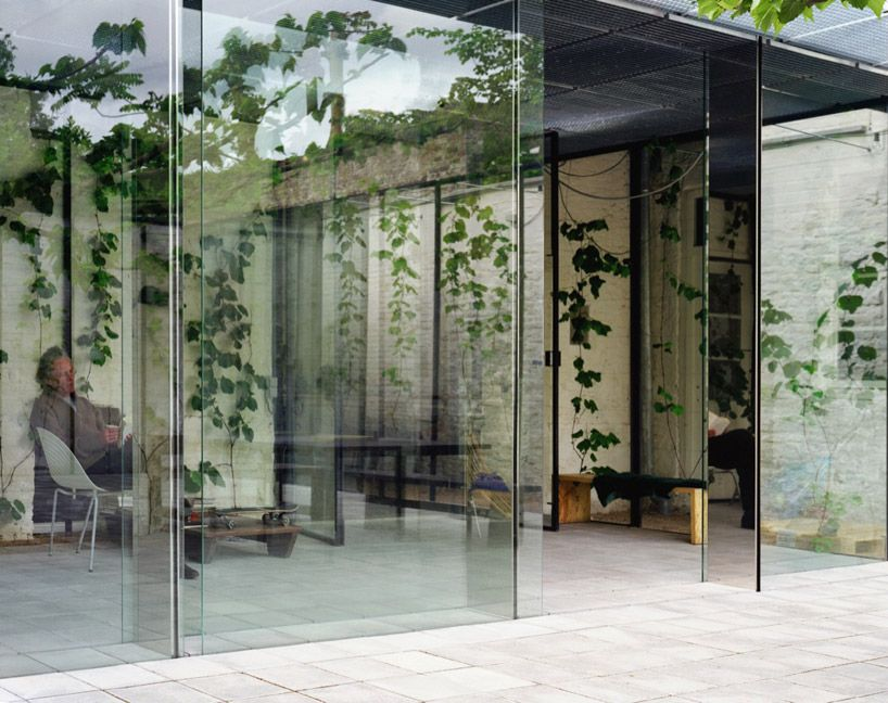 summer house by office kersten geers david van severen  - designboom | architecture & design magazine