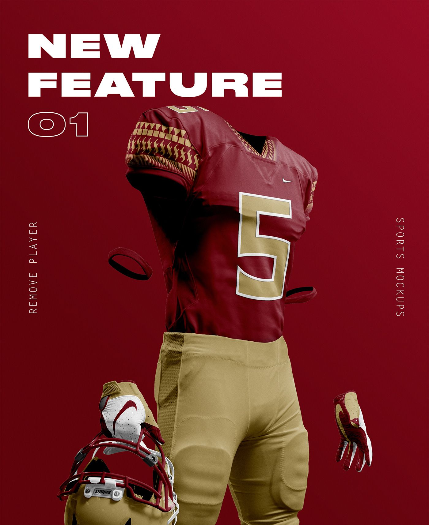 Download 2 0 Nfl Football Mockups Free Psd On Behance Sports Design Sports Graphic Design Nfl Football