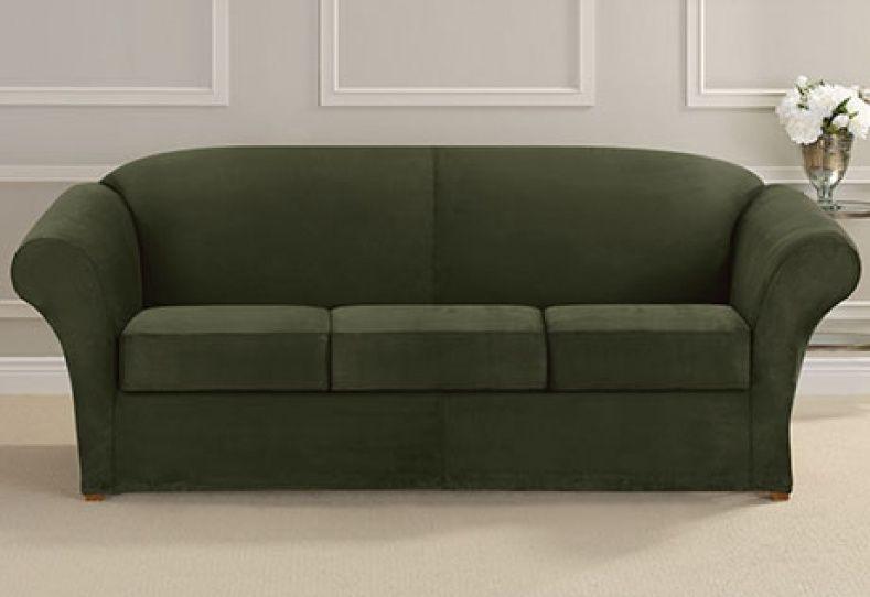 Three Cushion Sofa Slipcovers