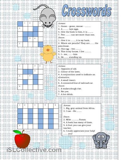Easy crosswords for beginners | Games (Crosswords