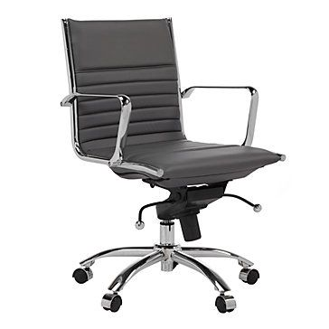 malcolm office chair. Malcolm Office Chair - Grey | Furniture Z Gallerie L